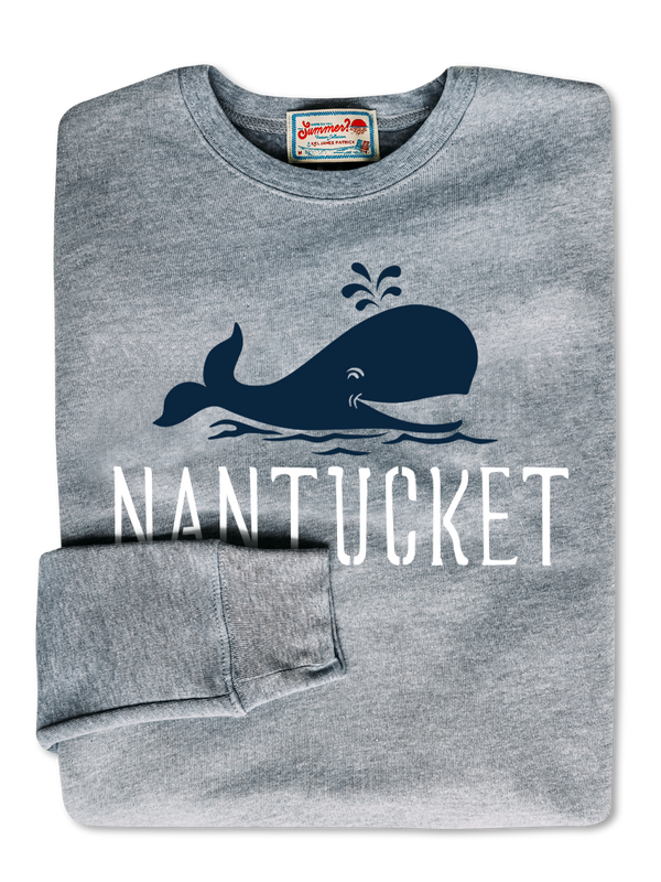 Whaley Nantucket Sweatshirt- Grey
