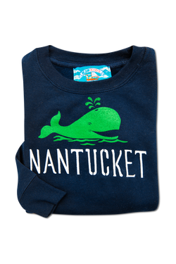 Whaley Nantucket Kids Sweatshirt - Navy