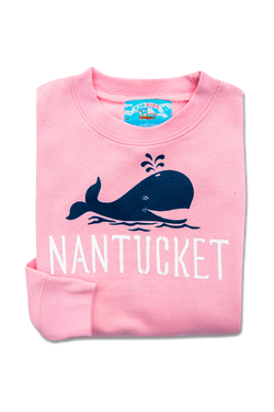 Whaley Nantucket Kids Sweatshirt - Pink