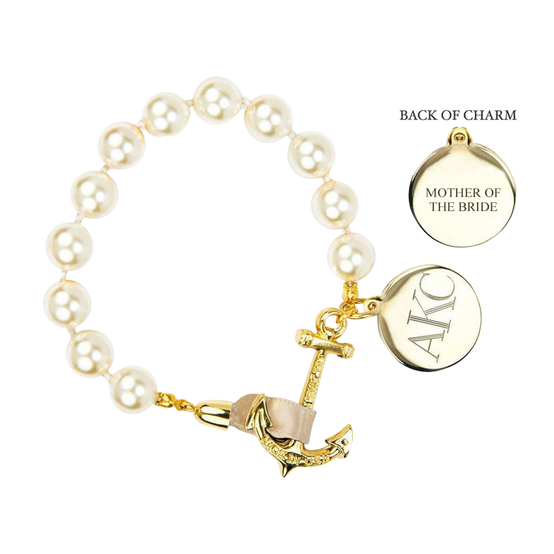 Anchor Atlantic Monogram Wedding Bracelet