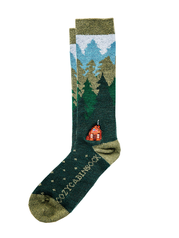 Cozy Cabin Sock