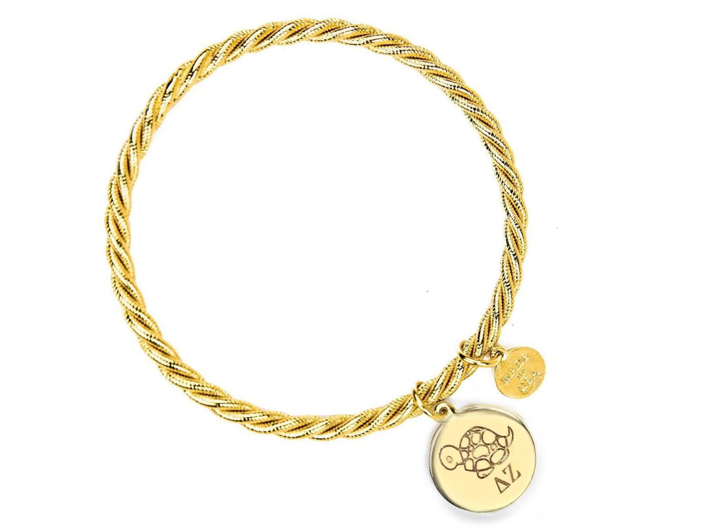 Braided Together - Delta Zeta - Kiel James Patrick Anchor Bracelet Made in the USA