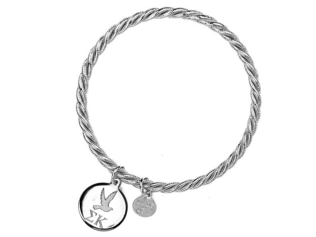 Braided Together - Sigma Kappa - Kiel James Patrick Anchor Bracelet Made in the USA