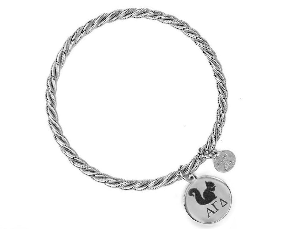 Braided Together - Alpha Gamma Delta - Kiel James Patrick Anchor Bracelet Made in the USA
