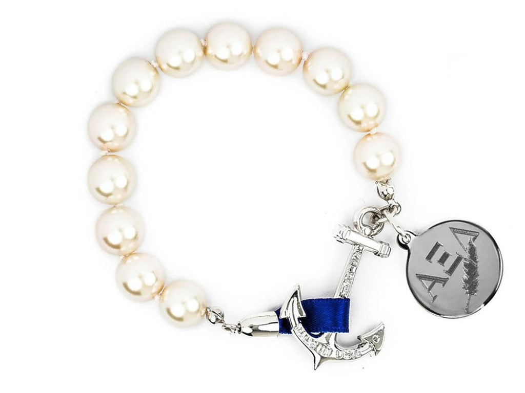 Charlotte - Alpha Xi Delta - Kiel James Patrick Anchor Bracelet Made in the USA