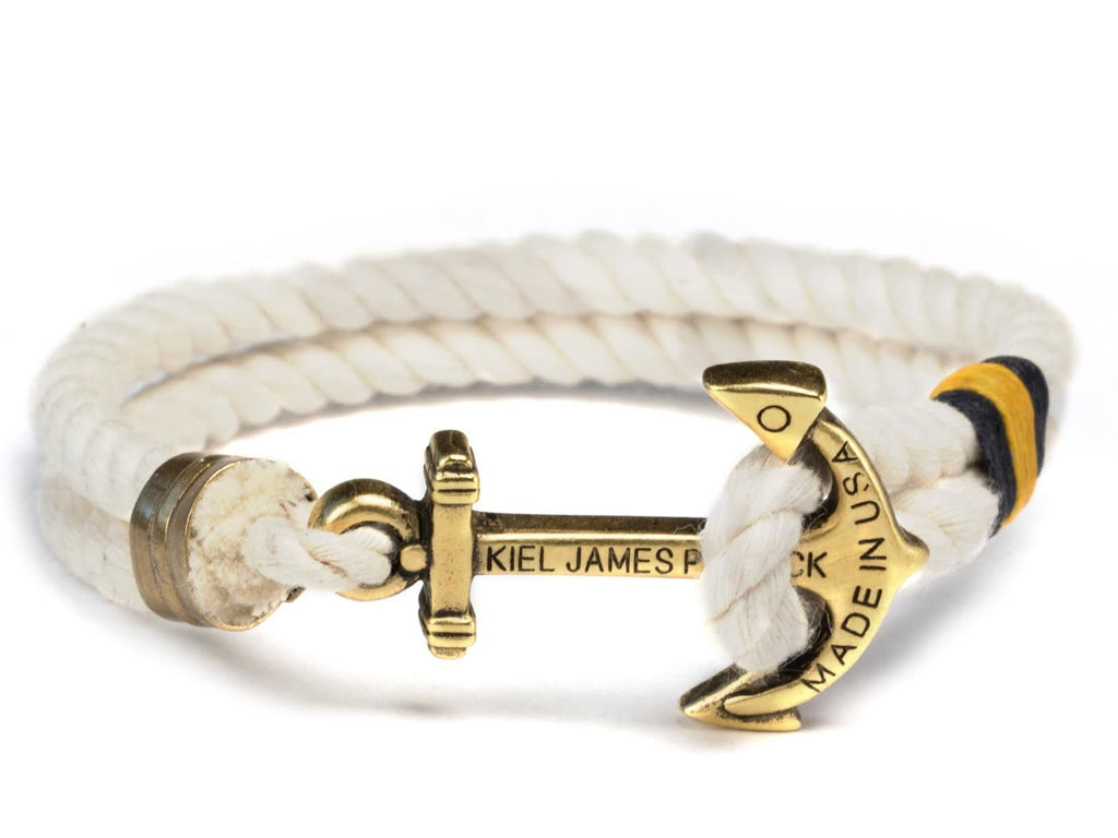 Aim High - Kiel James Patrick Anchor Bracelet Made in the USA