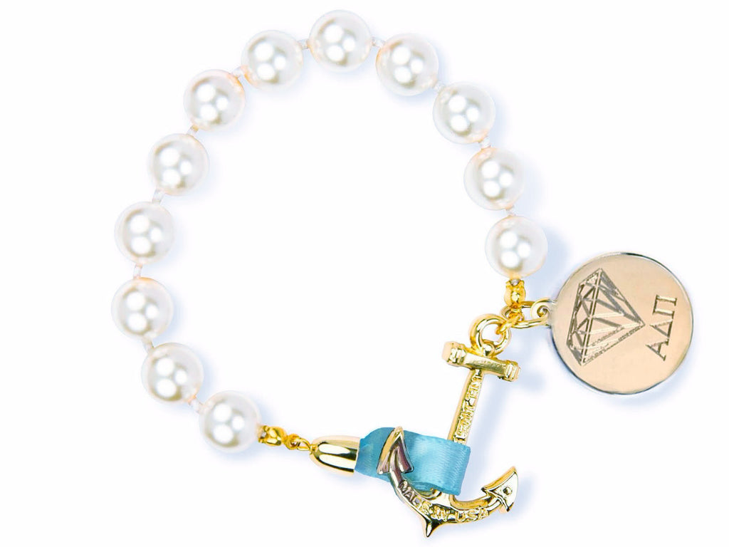 Emma Mason - Alpha Delta Pi - Kiel James Patrick Anchor Bracelet Made in the USA