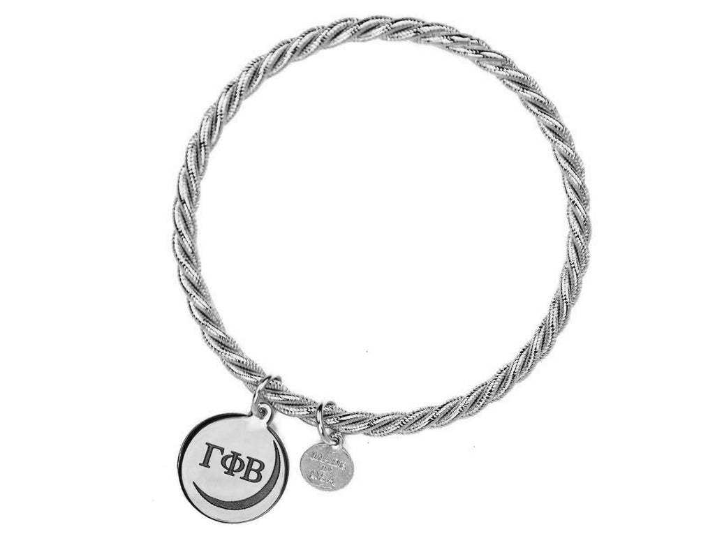 Braided Together - Gamma Phi Beta - Kiel James Patrick Anchor Bracelet Made in the USA