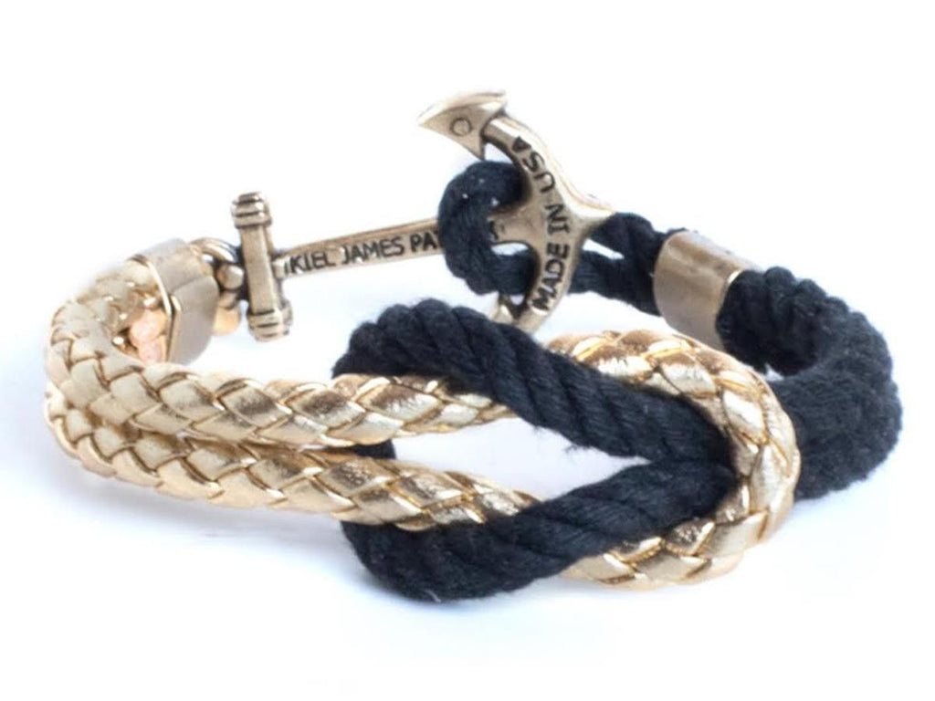 CASA - Kiel James Patrick Anchor Bracelet Made in the USA
