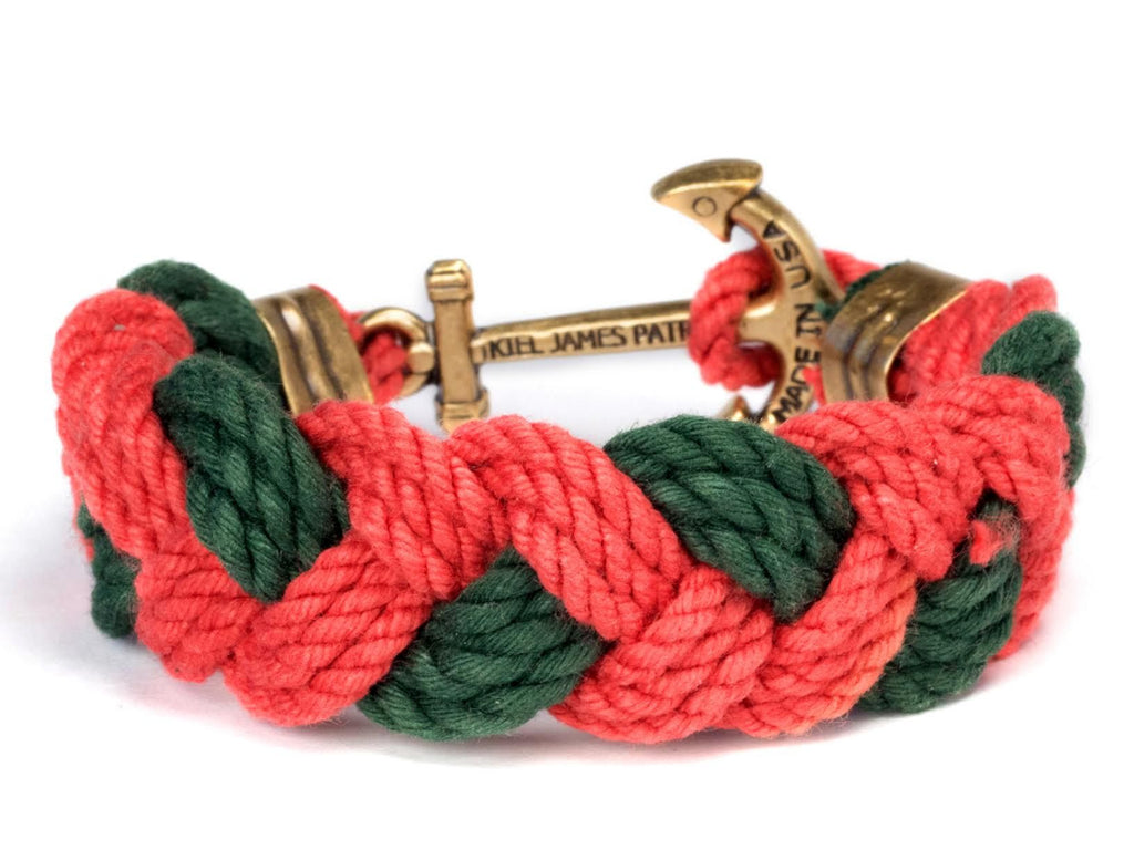 Desire the Lyre - Kiel James Patrick Anchor Bracelet Made in the USA