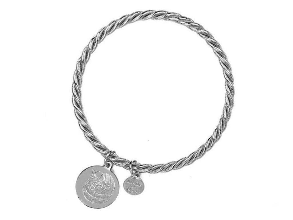 Braided Together - Kappa Delta - Kiel James Patrick Anchor Bracelet Made in the USA