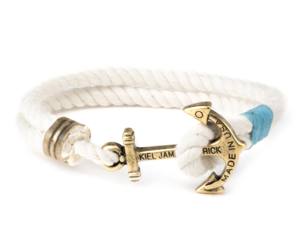 Diamonds Are Forever - Kiel James Patrick Anchor Bracelet Made in the USA