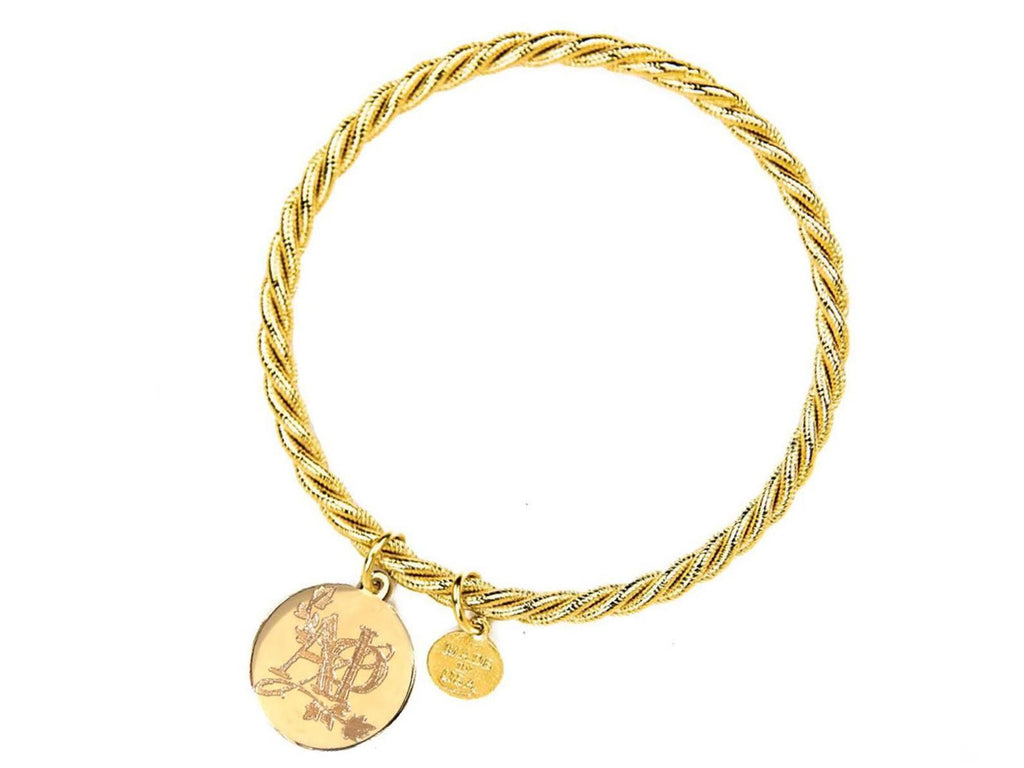 Braided Together - Alpha Phi - Kiel James Patrick Anchor Bracelet Made in the USA