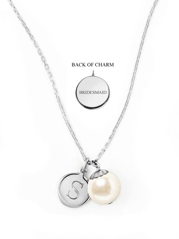World's Your Oyster Wedding Necklace