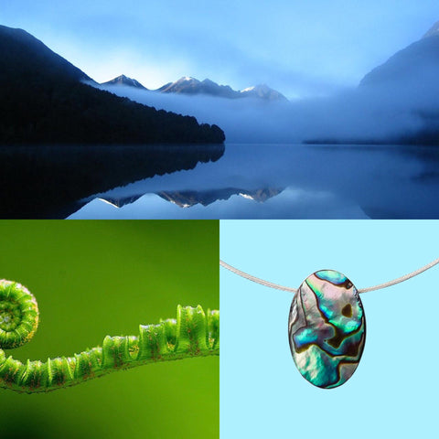 NZ Pacific Paua Jewellery - Gifts from the South Pacific Ocean