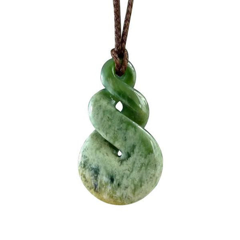 Jade Twist Pendants