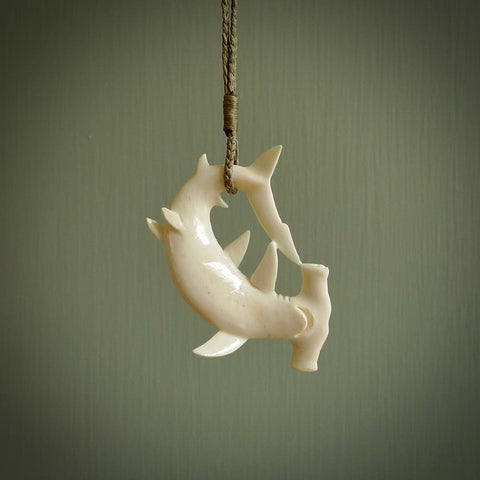 Hand carved bone pendants. Handmade jewellery for sale online.