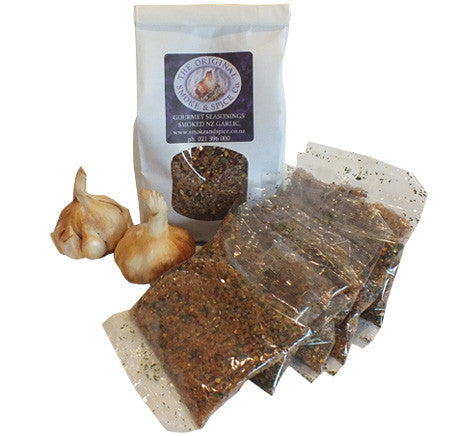 Smoked Seasoning and Smoked Garlic Pack