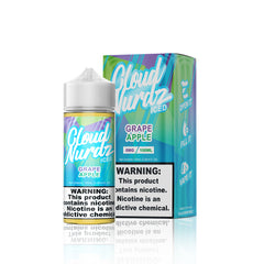 Grape Apple - Cloud Nurdz Iced E Liquid