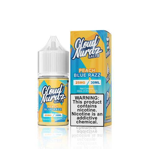 Peach Blue Razz - Cloud Nurdz Salts E Liquid