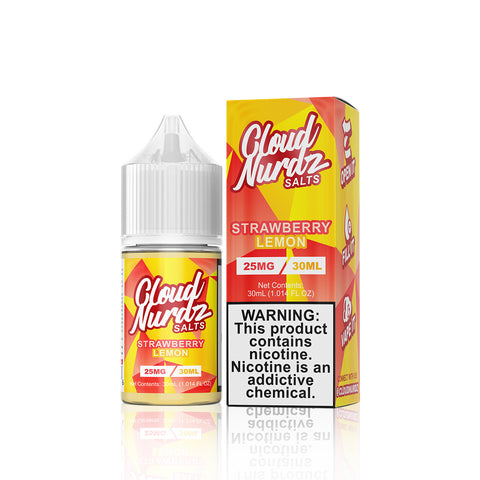 Strawberry Lemon - Cloud Nurdz Salts E Liquid