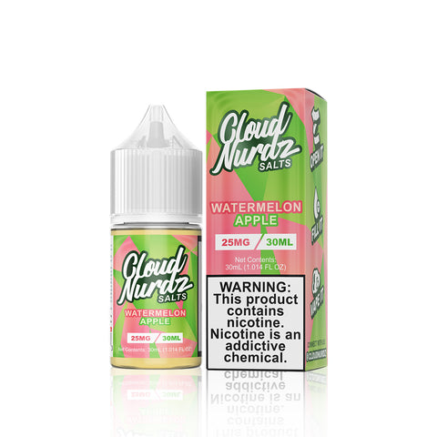 Watermelon Apple - Cloud Nurdz Salts E Liquid