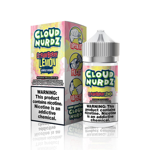 Strawberry Lemon - Cloud Nurdz E Liquid