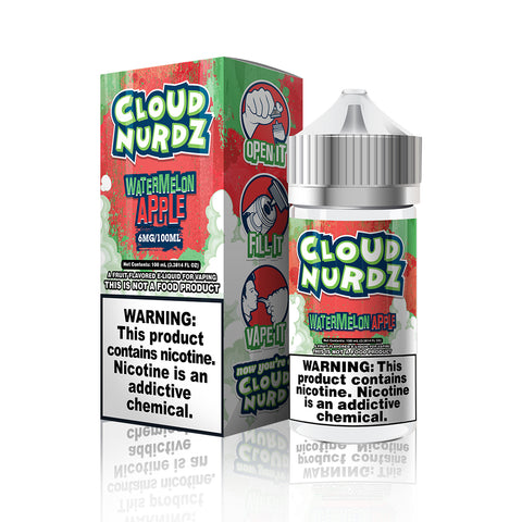 Watermelon Apple - Cloud Nurdz E Liquid