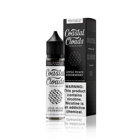 Apple Peach Strawberry - Sweets By Coastal Clouds E Liquid