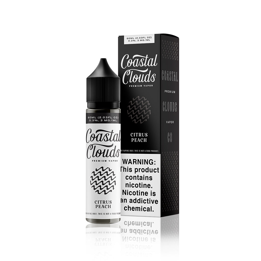 Citrus Peach (Sugared Nectarine) - Sweets By Coastal Clouds E Liquid