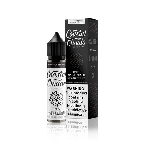 Ice Apple Peach Strawberry - Sweets By Coastal Clouds E Liquid