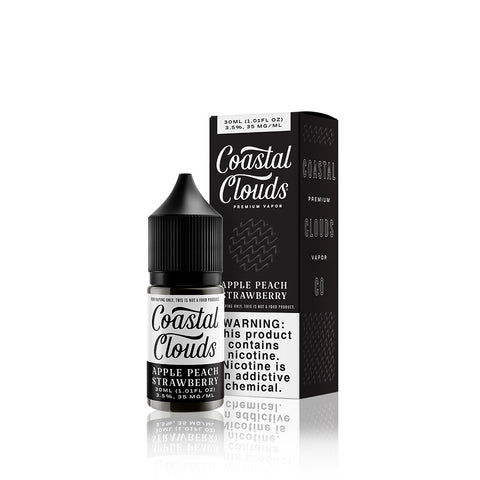 Apple Peach Strawberry - Coastal Clouds Co. Salt E Liquid