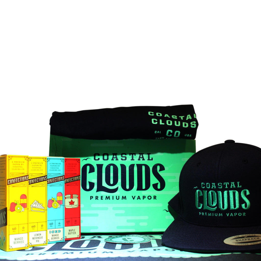 Confections by Coastal Clouds E Liquid Bundle