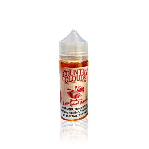 Strawberry Corn Bread Puddin' - Country Clouds E Liquid