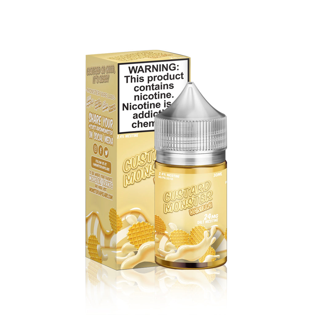 Custard Monster Salt E Liquid Vanilla