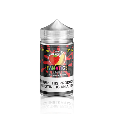 Strawberry Banana - Salt Fanatics E Liquid