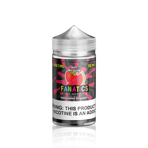 Watermelon Strawberry - Salt Fanatics E Liquid