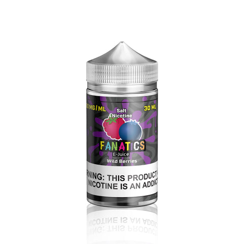 Wild Berries - Salt Fanatics E Liquid