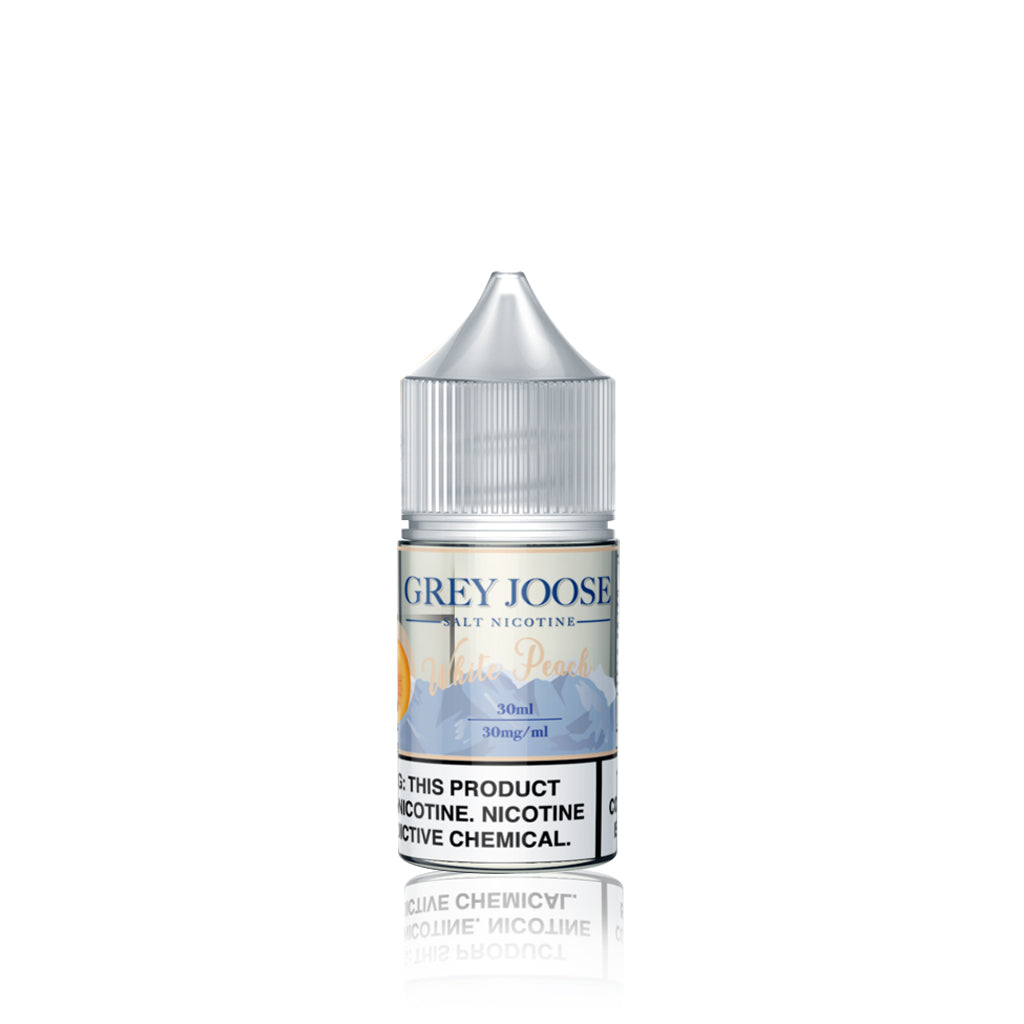 White Peach - Grey Joose Salt E Liquid