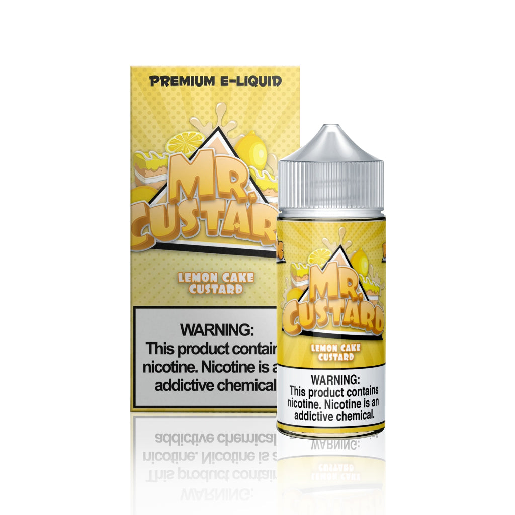 Lemon Cake Custard - Mr. Custard E Liquid