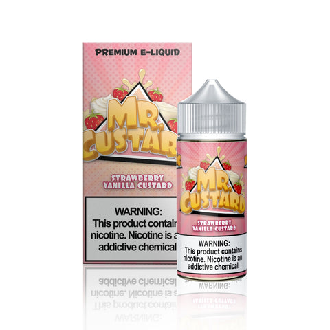 Strawberry Vanilla - Mr. Custard E Liquid