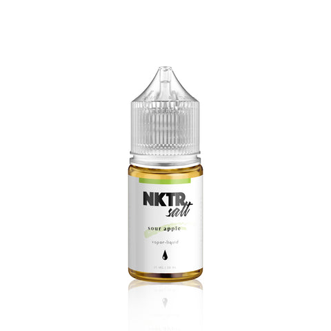 Sour Apple - Nktr Salt E Liquid