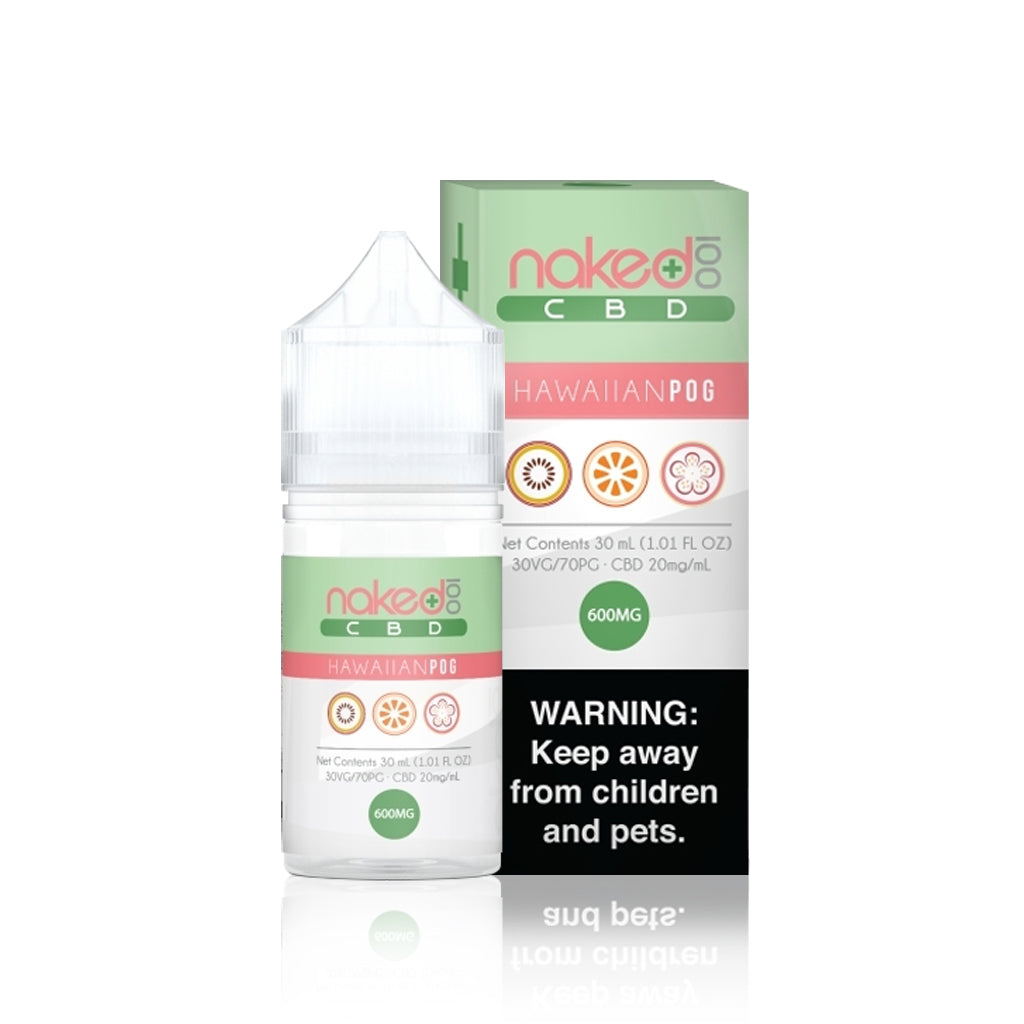 Hawaiian Pog CBD E Liquid - Naked 100 CBD