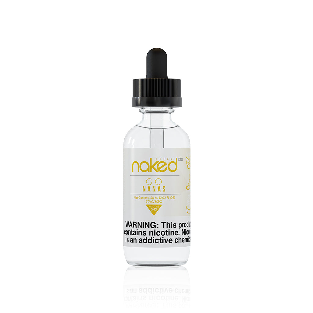 Banana (Go Nanas) - Naked 100 Cream E Liquid