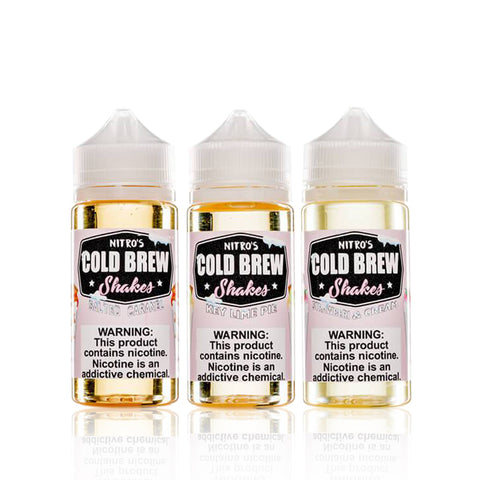 Nitro's Cold Brew Shakes E Liquid Sample Pack - Nitro's Cold Brew Shakes E Liquid