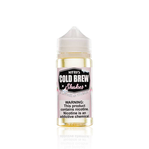 Strawberi & Cream - Nitro's Cold Brew Shakes E Liquid