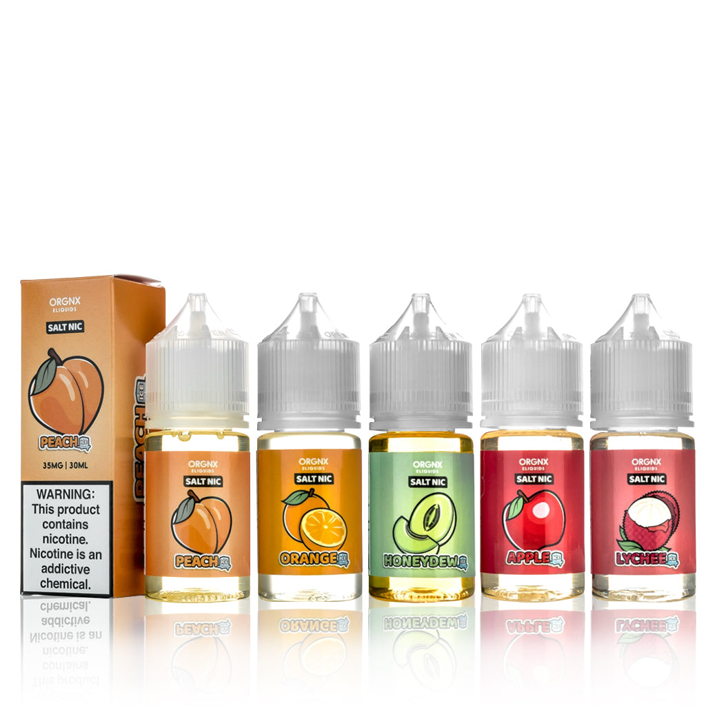 ORGNX Salt E Liquid Bundle - ORGNX Salt E Liquid