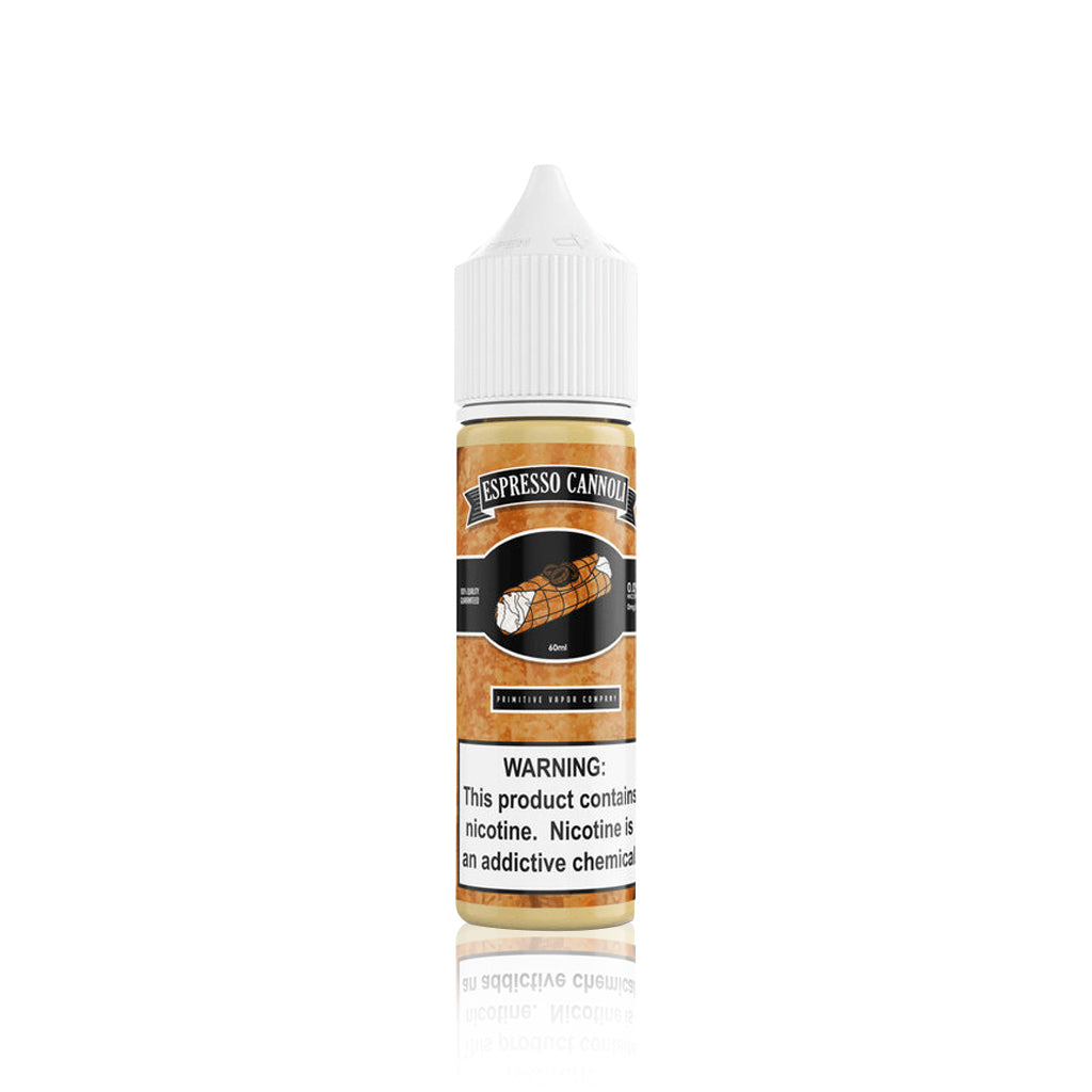 Espresso Cannoli - Primitive Vapor Co. E Liquid