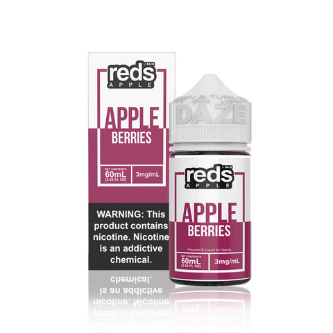 Berries Reds Apple - Vape 7 Daze E Liquid