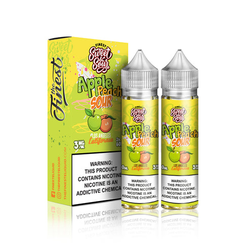 Apple Peach Sour - The Finest Sweet & Sour E Liquid
